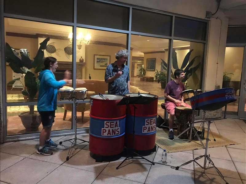 Steel Drumming